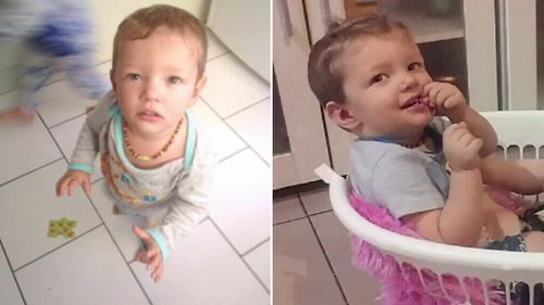 Mason Jet Lee was found at a Caboolture home on June 11. (9NEWS)