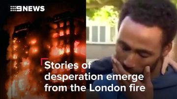 Stories of desperation emerge from London tower fire