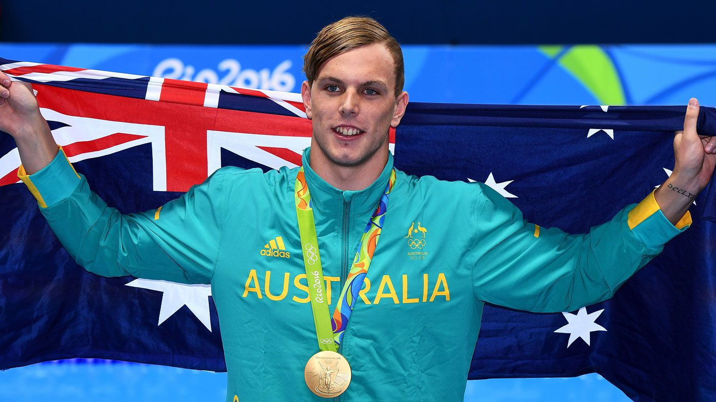 Olympic gold medalist Kyle Chalmers to pursue AFL career