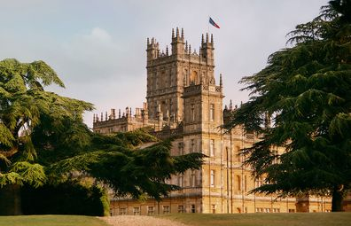 Downton Abbey's Highclere Castle exterior