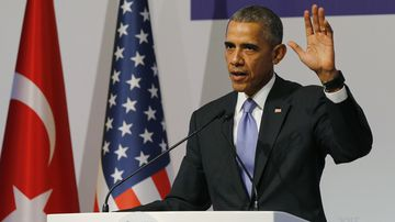 US President Barack Obama has vowed to end the war in Syria. (AAP)