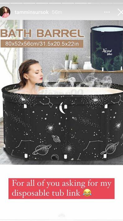 Inflatable bathtubs