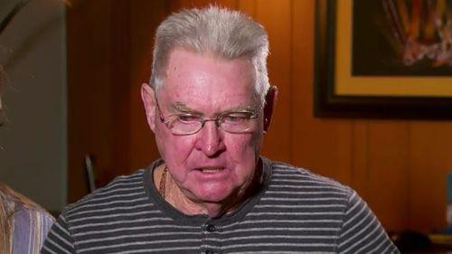 Cindy Crossthwaite's father, Phil. (9NEWS)