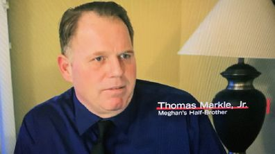Thomas Markle Jr E! True Hollywood Story comments on Meghan and Samantha relationship