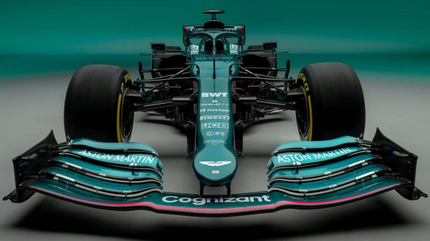 Aston Martin Racing reveal first Formula One car in 61 years ahead of new season