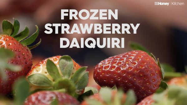 Make A Frozen Strawberry Daiquiri