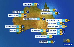 Summer starts early with heatwave and fire danger across the south and east