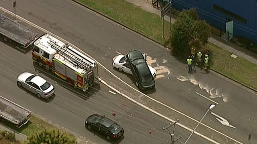 Emergency services are on the scene. (9NEWS)