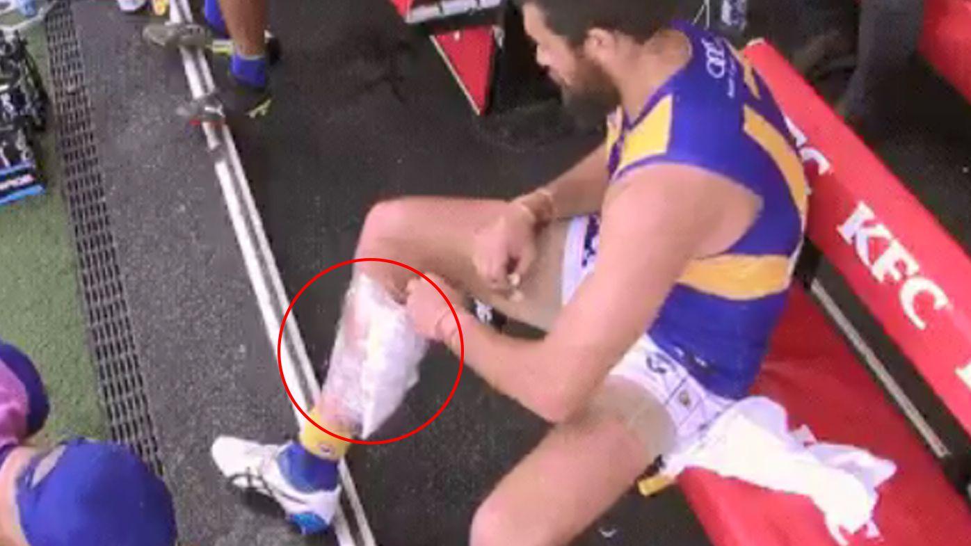 Josh Kennedy suffers calf injury as West Coast Eagles end road losing streak