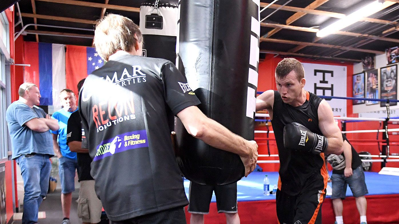 Jeff Horn responds to threats made against his trainer Glenn Rushton