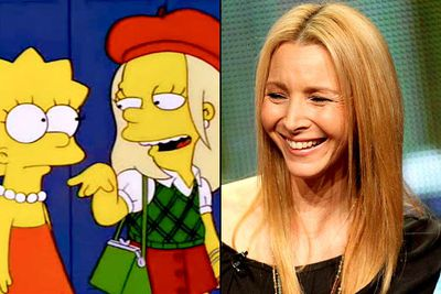 "<B>Appeared in:</B> 'Lard of the Dance' (1998). Lisa <I>Kudrow</I> is Alex Whitney, a fashion-forward new kid at Springfield Elementary who steals Lisa <I>Simpsons</I>'s friends and convinces the school to put on a flashy dance. Alex remarks that she loves Lisa's name, and later tells her to quit being ""such a Phoebe"". Get it?<br/><br/><B>Best line:</B> ""DMY... don't mess yourself!"" (Seriously, how did that not become a well-established catchphrase?)"