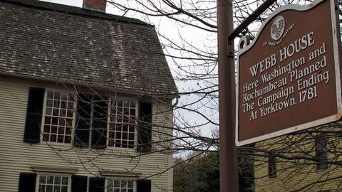 Artefacts dating back to the 1630s found during an archaeological dig behind the historic home have rekindled a friendly feud over whether Wethersfield or Windsor was the first European-settled town in Connecticut.