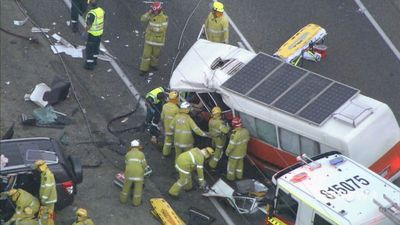 Woman dead after fatal bus crash