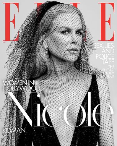 Nicole Kidman, Elle, magazine, cover, shoot