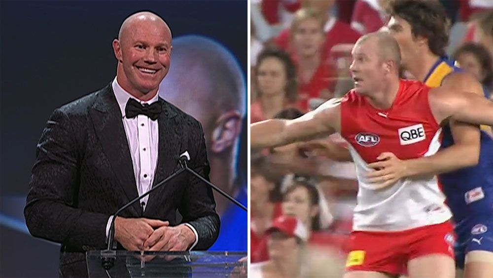 AFL Hall of Famer Barry Hall sees no fame in infamous punch while Malcolm Blight elevated to Legend status