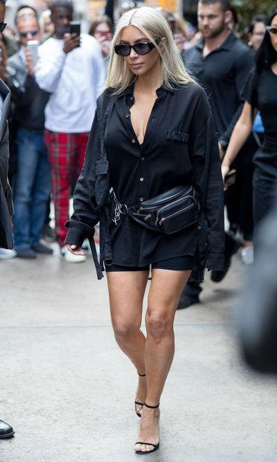 Kim Kardashian-West in New York City in September, 2017