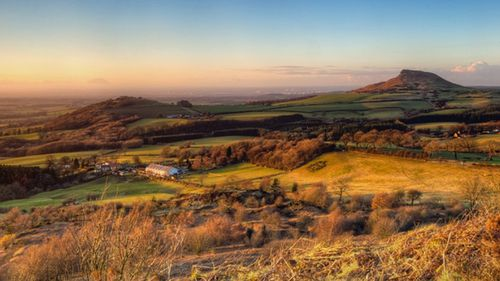 The North Yorkshire Moors National Park, close to Silpho.