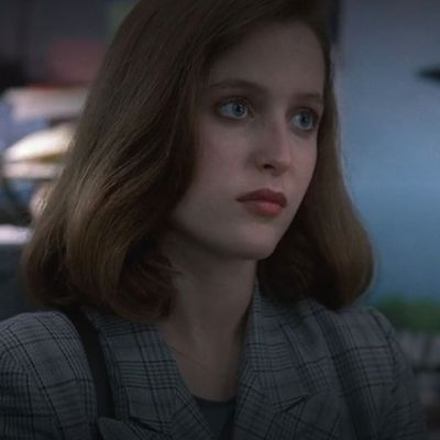 Gillian Anderson as Dana Scully: Then
