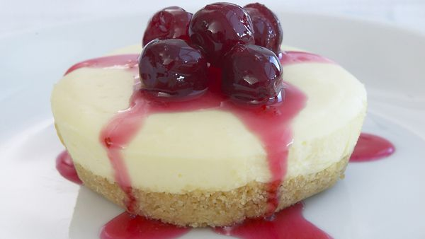 Vanilla cheesecakes