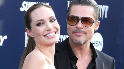 Jolie and husband Brad Pitt attend the World Premiere of Disney's 'Maleficent' in May. (Getty)