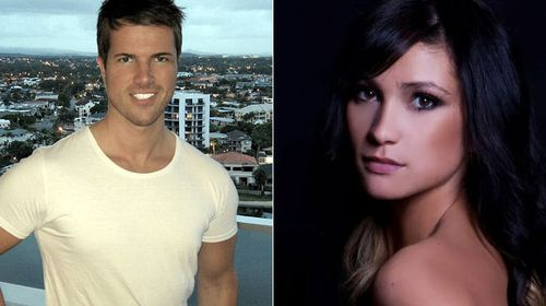Accused balcony killer Gable Tostee and alleged murder victim Warriena Wright. (AAP)