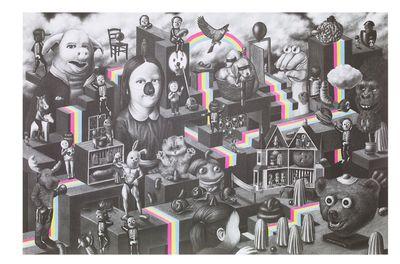 """Rainbows"", By Amandine Urruty"