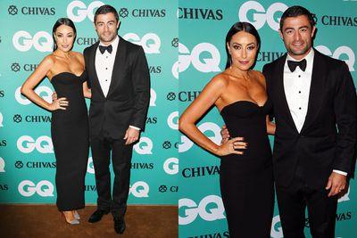 Power couple alert! Shoe queen Terri Bivano and her footy star hubby Anthony Minichiello were a sleek pair.