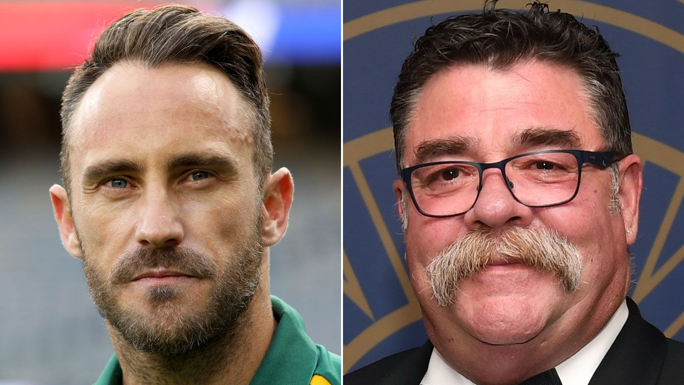 David Boon bans SA captain Faf Du Plessis for one Test due to slow over rate