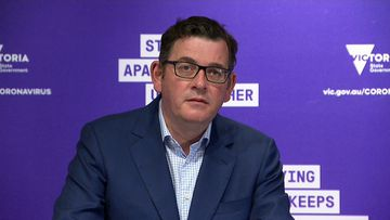 Victorian Premier, Daniel Andrews, provides an update on the state's COVID-19 situation. September 15, 2020.