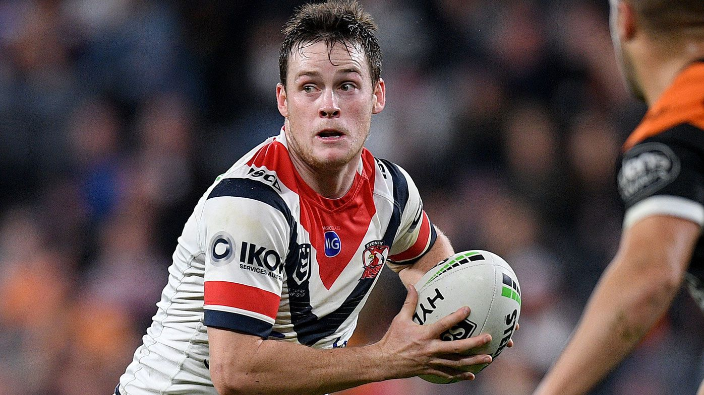 Roosters star Luke Keary rubbishes claim he could be a Maroon