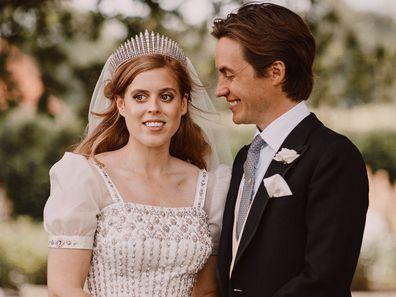 Photo of Princess Beatrice and Edo secret wedding