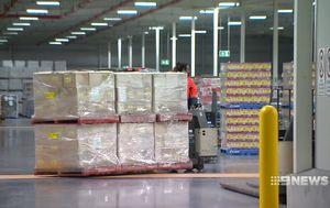 Inside Costco's enormous Australian distribution centre