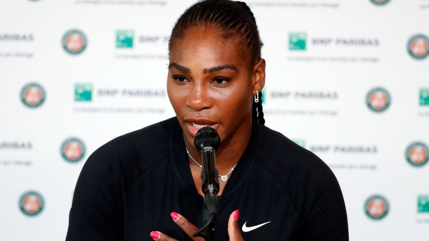 Serena Williams withdraws from French Open with pectoral muscle injury
