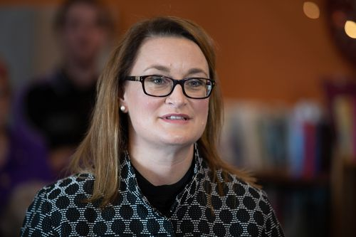 Mr Strangio attacked Labor candidate Justine Keay for her previous citizenship-based resignation. (AAP)