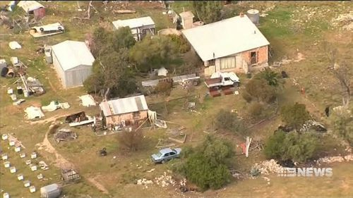 Mr Kuskoff' was shot during a siege at his rural property. (9NEWS)