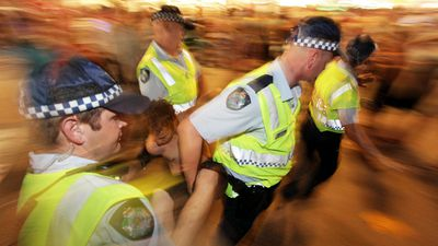 POLICE: The state government has confirmed one thing today - cops are tops. There will be an extra 310 new police officers on the beat by 2018 and the government has committed $100 million to new gadgets, including fingerprint scanners and body cameras. Verdict: WINNER (AAP Image/Dean Saffron)