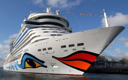 Aida Cruises said there was reason to believe that the celebrity, who first became well-known as a contestant in Germany's version of Pop Idol in 2003, jumped into the sea on Sunday morning.