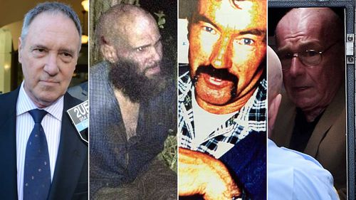 Robert Hughes, Malcolm Naden, Ivan Milat, Roger Rogerson are all serving their sentences in NSW prisons.