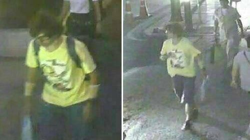 Thai authorities believe this man is a person of interest in the Bangkok bombing. (Supplied)