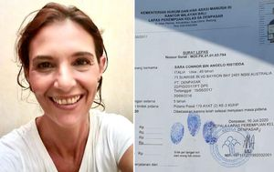 Australian woman Sara Connor released from Bali prison after four years over policeman's death
