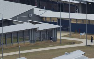 Coronavirus: Border Force moving criminals, non-citizens from 'under pressure' detention centres to Christmas Island