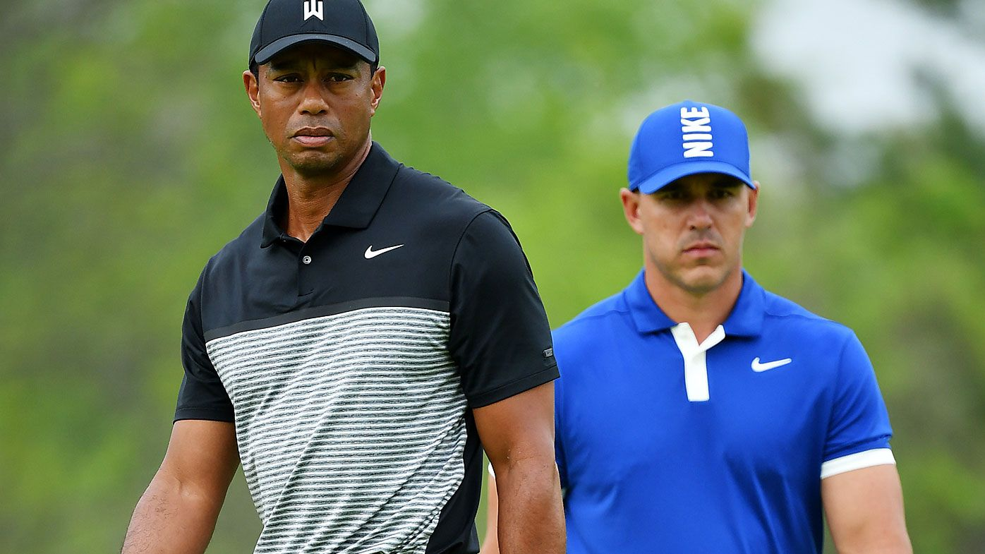 Tiger Woods plays down slow play 'tension' between Brooks Koepka and Bryson DeChambeau