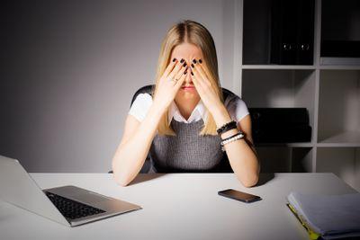 5. Bury yourself in work