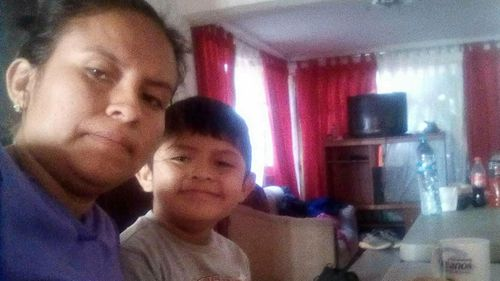 Blanca Orantes-Lopez had her eight-year-old son forcibly removed from her care, and hasn't seen him for more than a month. (AP)