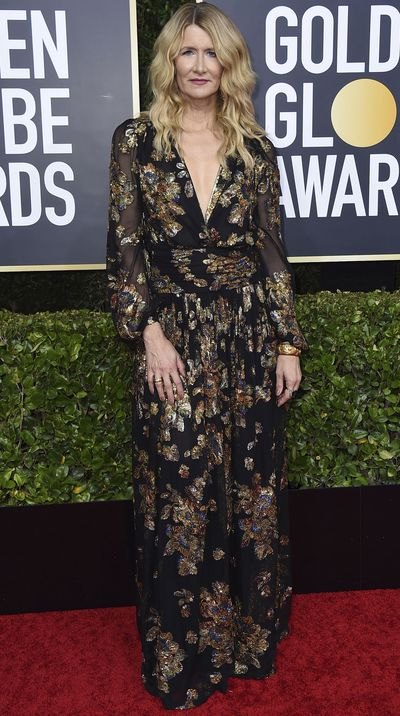 Laura Dern at the 2020 Golden Globes.
