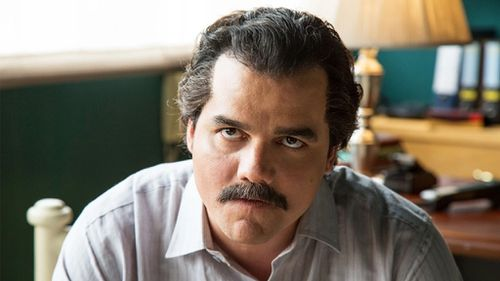 The series Narcos, starring Wagner Moura as Pablo Escobar, reopened old wounds in the country ravaged by drug wars. (Netflix)