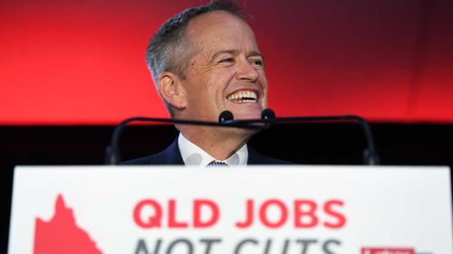 Bill Shorten suffered a massive swing against him.