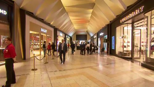 The precinct features 11 new stores. (9NEWS)