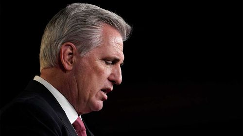 Kevin McCarthy is standing by Donald Trump in spite of a purportedly heated conversation between the two during the Capitol riots.
