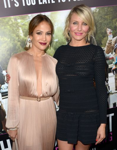 Jennifer Lopez, Cameron Diaz, movie premiere